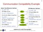 communication compatibility example