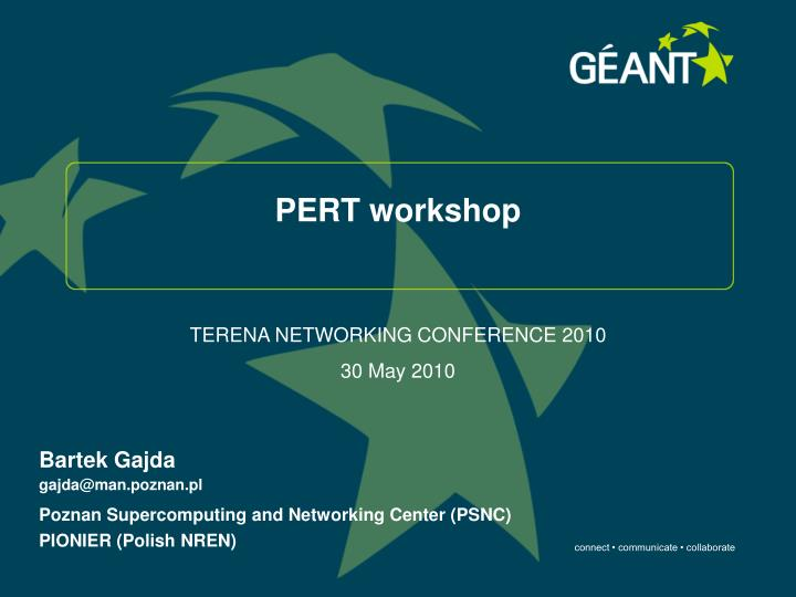 Pert workshop