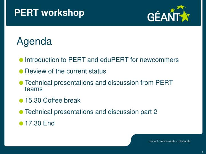 Pert workshop2