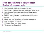 from concept note to full proposal review of concept note