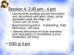 session 4 2 45 pm 4 pm