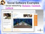 social software examples