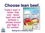 choose lean beef13