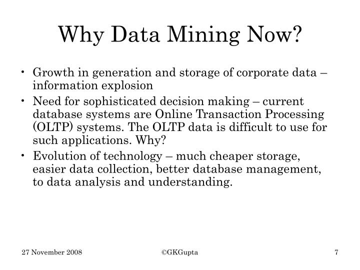 Growth in generation and storage of corporate data – information explosion