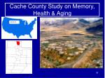 cache county study on memory health aging