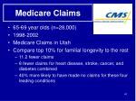 medicare claims