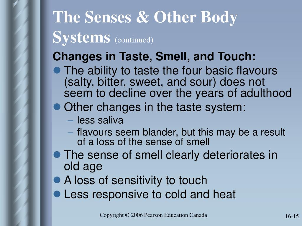 The Senses & Other Body Systems