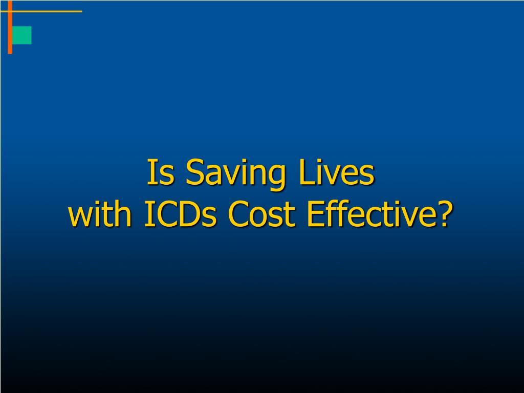 Is Saving Lives