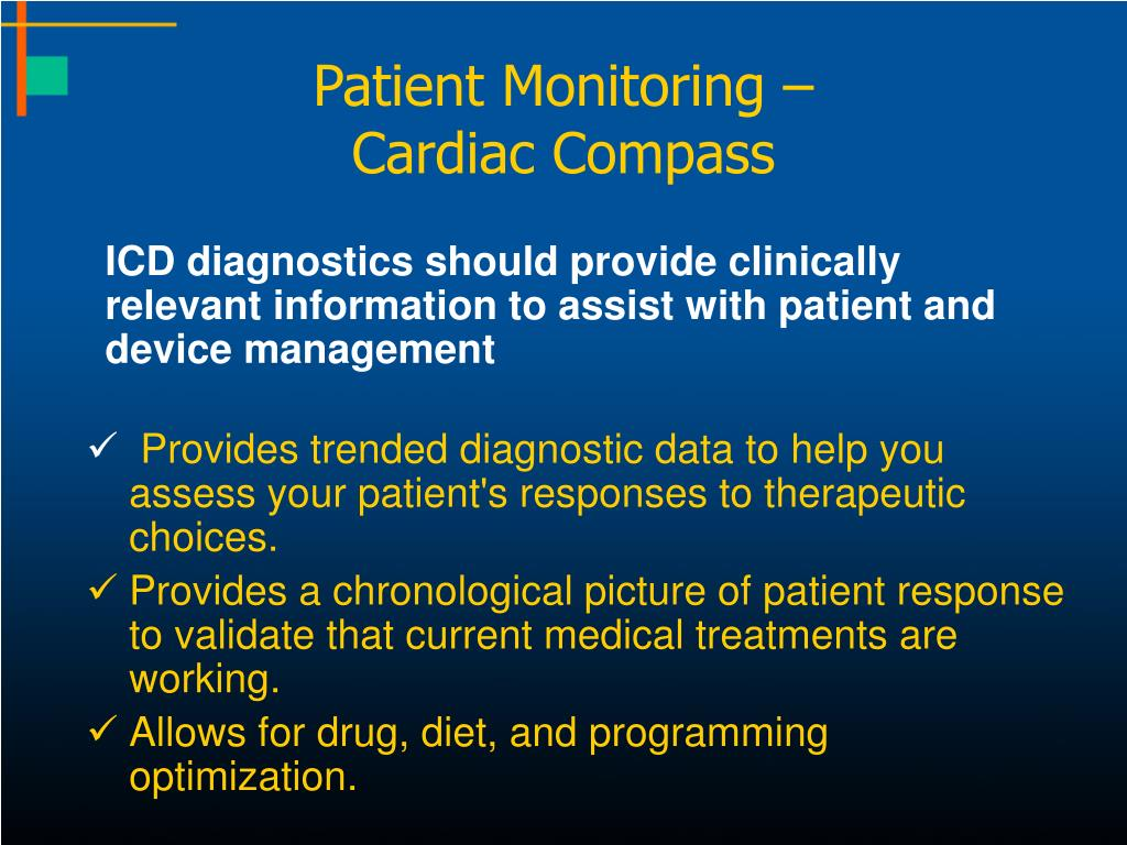 Patient Monitoring –