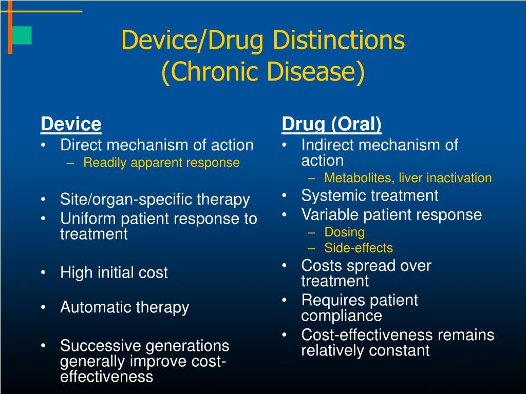 Device/Drug Distinctions