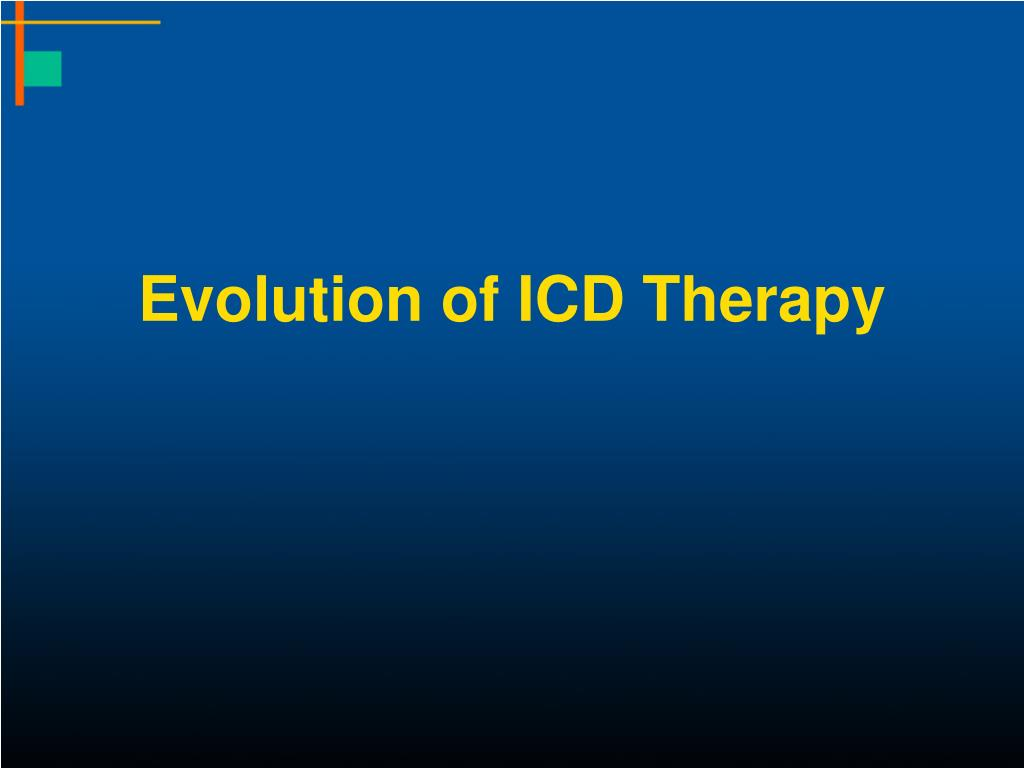 Evolution of ICD Therapy