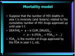 mortality model