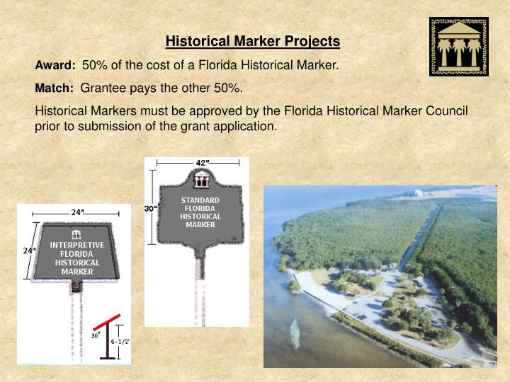 Historical Marker Projects