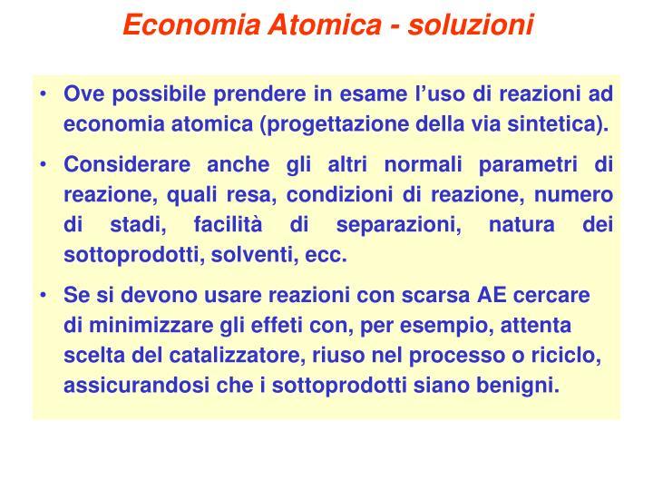 Economia Atomica - soluzioni