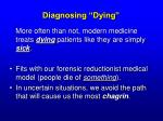 diagnosing dying14