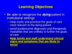 learning objectives42