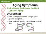 aging symptoms