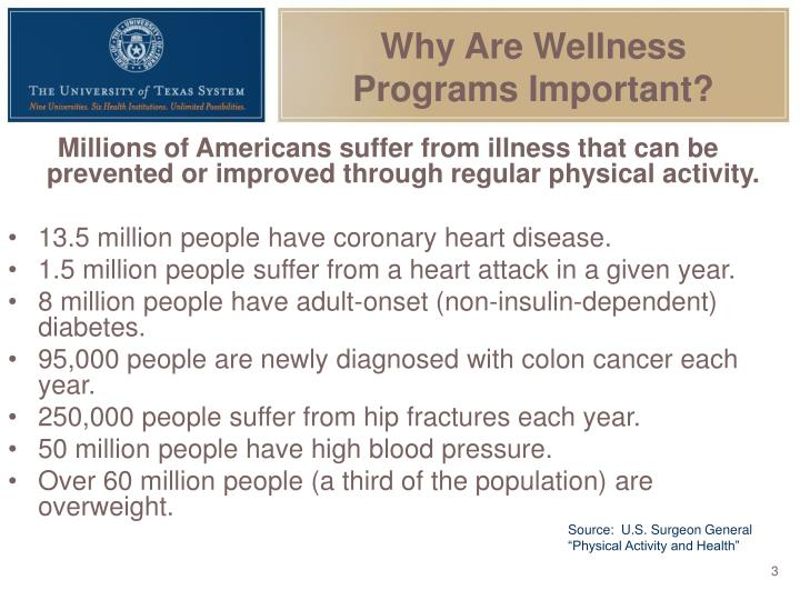 Why are wellness programs important