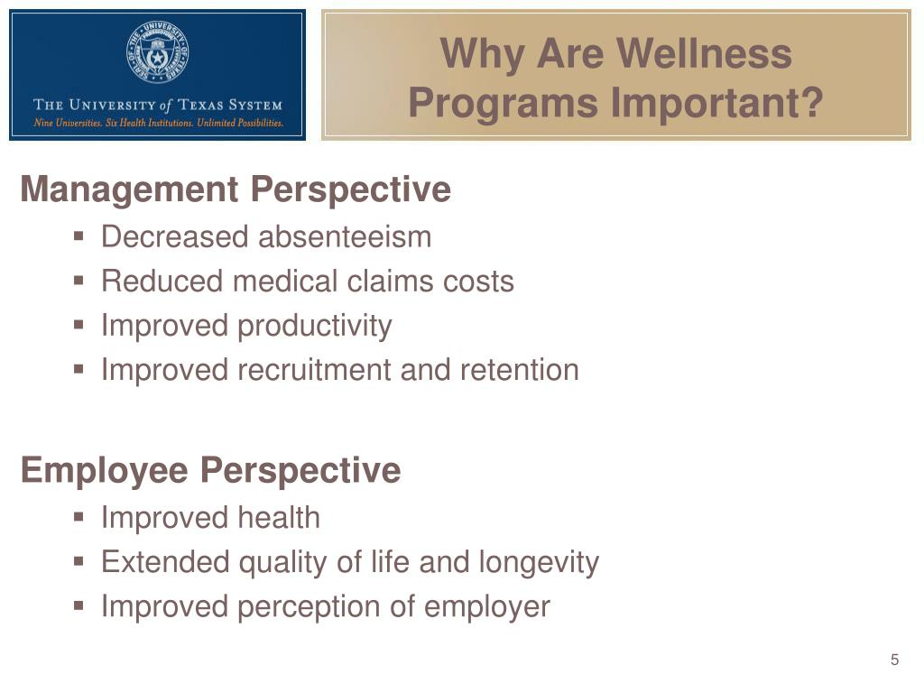 Why Are Wellness Programs Important?