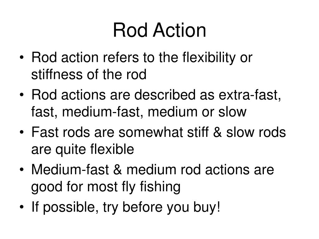 Rod Action