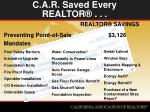 c a r saved every realtor1