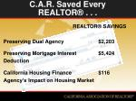 c a r saved every realtor3