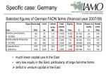 specific case germany14