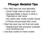 pflueger medalist tips
