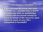 bcfff membership benefits cont d