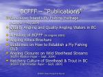 bcfff publications