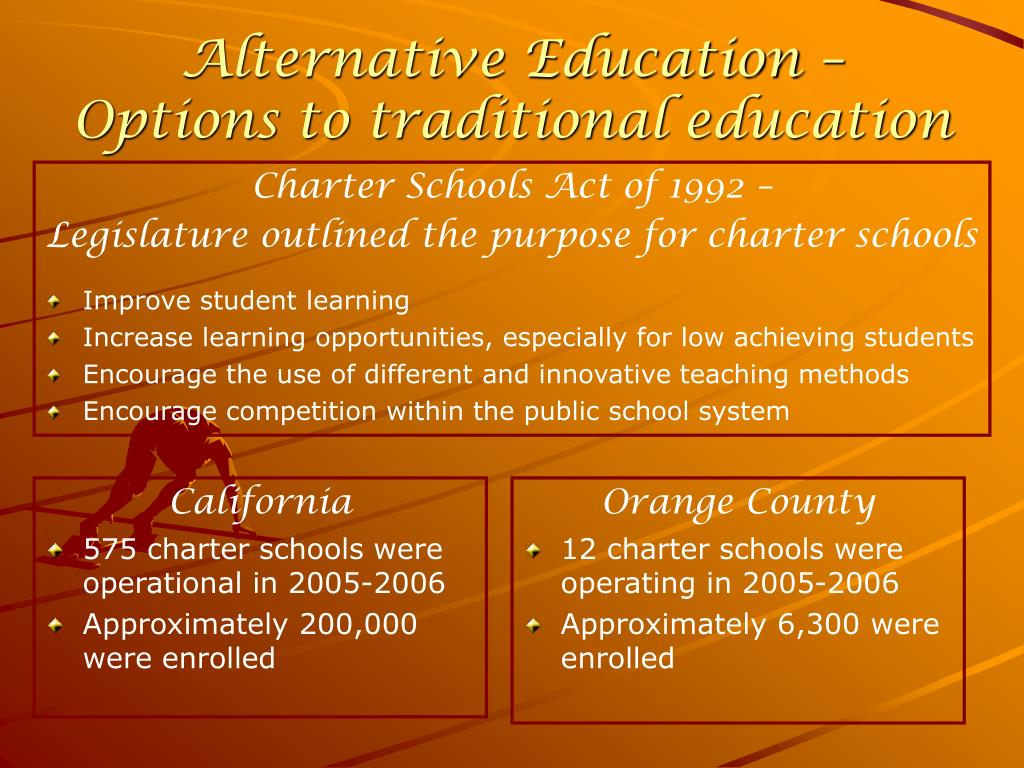 Alternative Education –