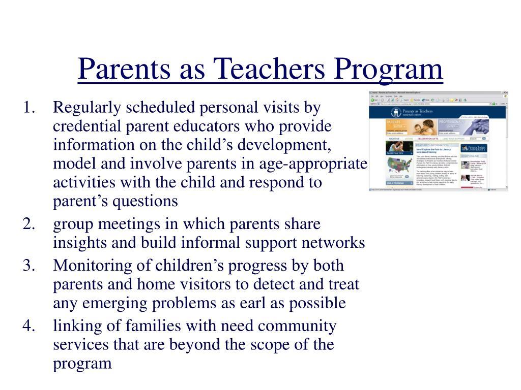 Parents as Teachers Program