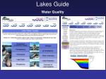 lakes guide water quality