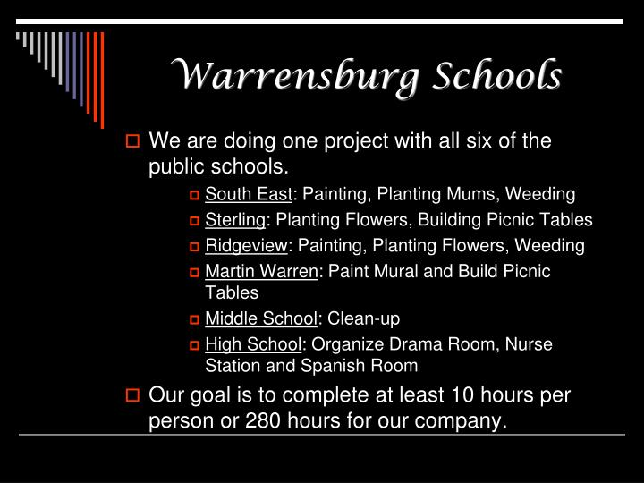 Warrensburg Schools