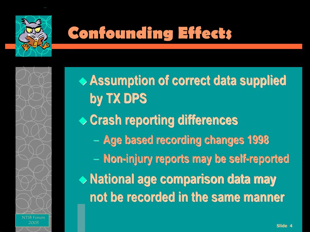 Confounding Effects