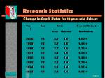 research statistics10