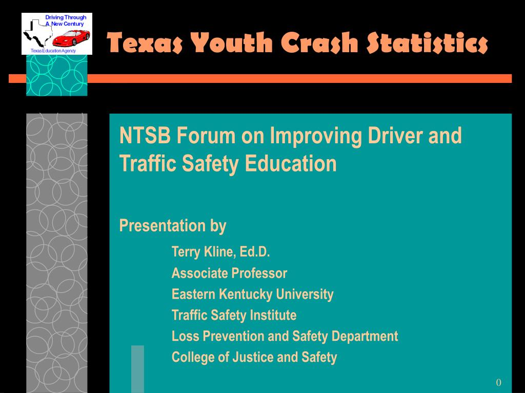 texas youth crash statistics l.