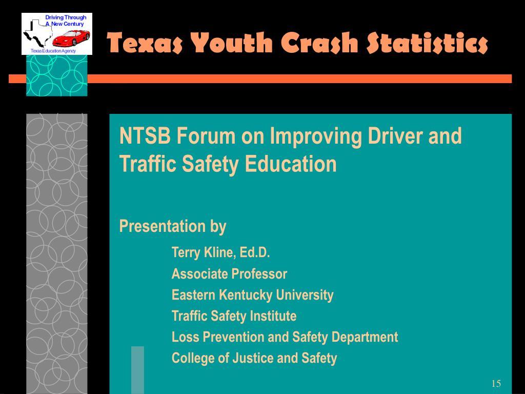 Texas Youth Crash Statistics