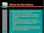vision for the future