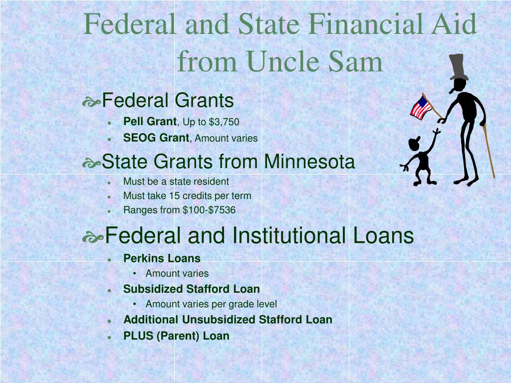 Federal and State Financial Aid