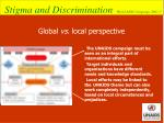 global vs local perspective