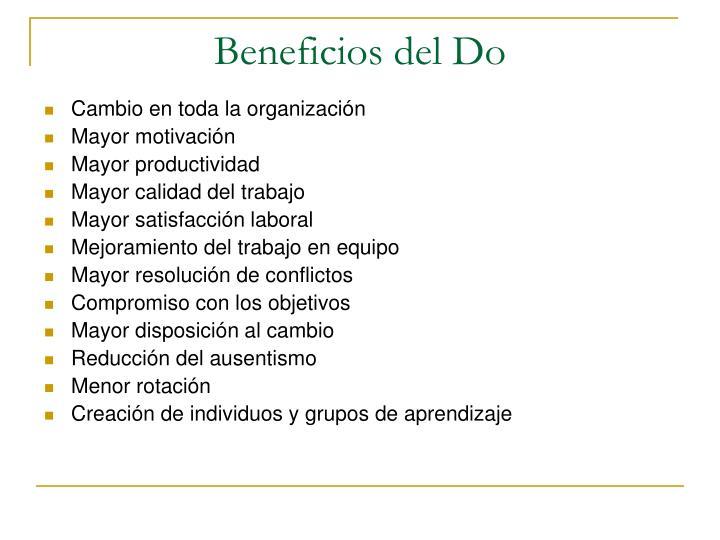Beneficios del Do