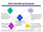 other data mining standards