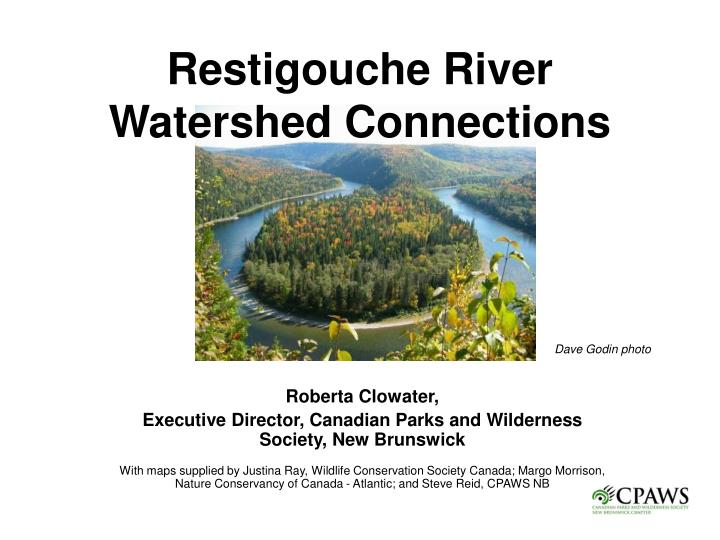 restigouche river watershed connections n.