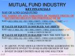 mutual fund industry25