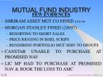mutual fund industry29