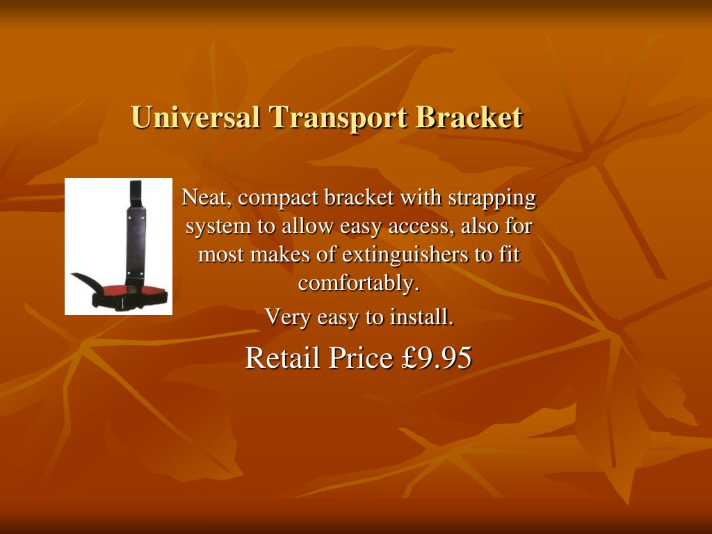 Universal Transport Bracket