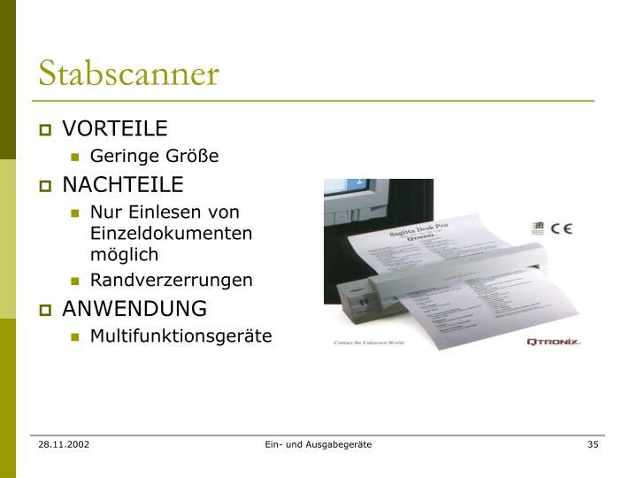 Stabscanner