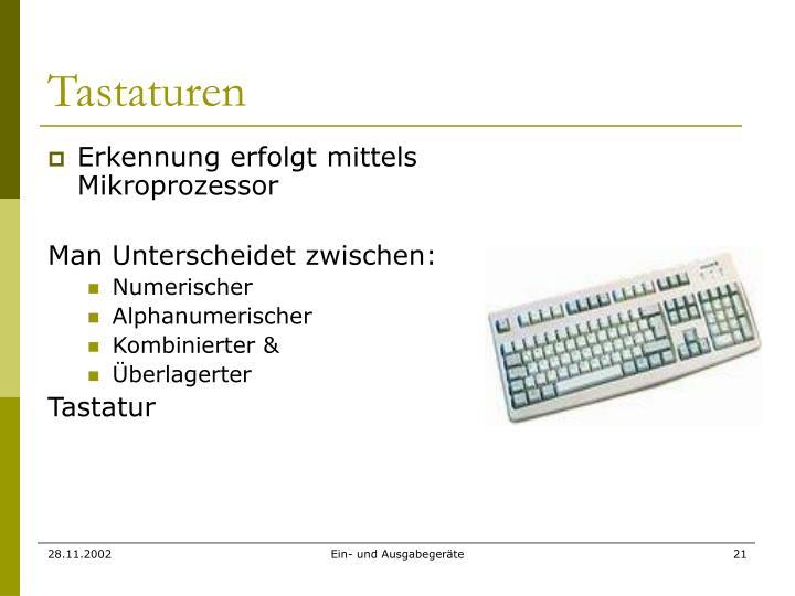 Tastaturen