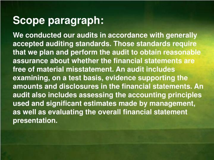 standards on auditing disclosures The codification of statements on auditing standards is generally issued in january, and the us auditing standards is issued as part of the aicpa professional standards in june of each year the current us auditing standards are available at the aicpa's web site.